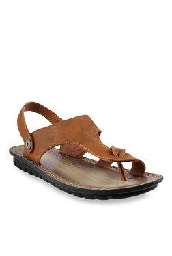 Da Vinchi By Metro Tan Toe Ring Sandals