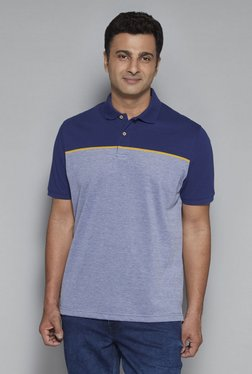 Oak & Keel By Westside Navy Relaxed Fit Polo T-Shirt - Mp000000001760974
