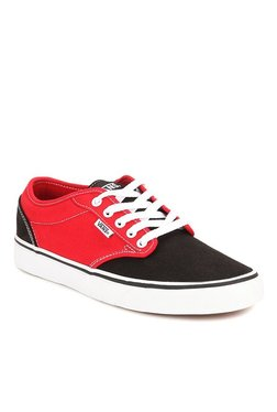 Vans Active Atwood Black & Red Sneakers