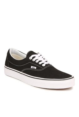 Vans Classics Era Black & White Sneakers
