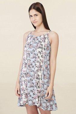 AND Multicolor Floral Print Mini Dress