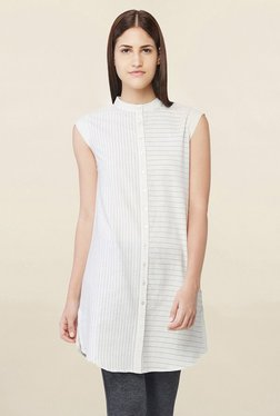 AND White Striped Tunic - Mp000000001764223