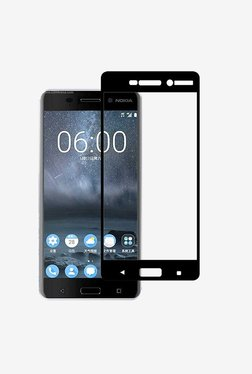 Stuffcool 2.5D Full Screen Tempered Glass For Nokia 6(Black)