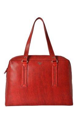 Baggit L Nigle Y G Beads Scarlet Red Shoulder Bag