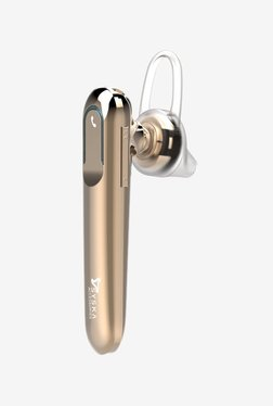 Syska LB300 In The Ear Wireless Headset With Mic (Gold)