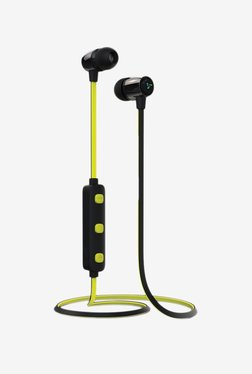 Syska H15 In The Ear Wireless Earphones (Yellow)