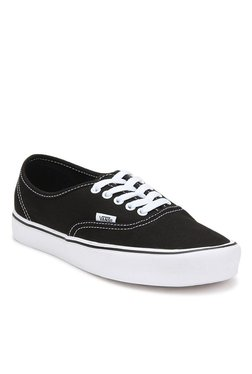 cdbb8bffa8d Vans Classics Authentic Lite Black   White Sneakers