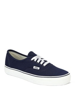 Vans Classics Authentic Navy   True White Sneakers 1efb3a6e9