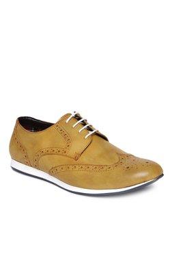 San Frissco Tan Brogue Shoes