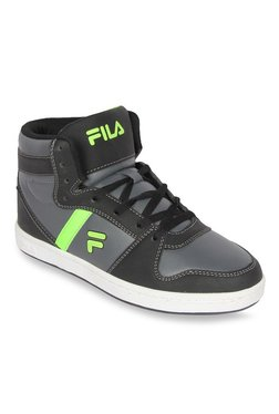 Fila Camron Grey & Black Ankle High Sneakers