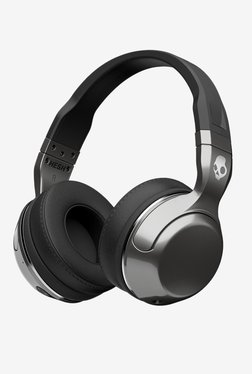 Skullcandy HESH 2 S6HBHY-516 Bluetooth Headphone With Microphone (Black  Silver) 25d1d72807a0a