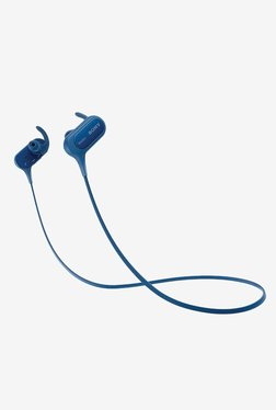 Sony MDR-XB50BSLZE Bluetooth Headphone (Blue)
