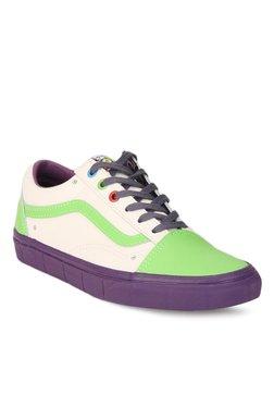 Vans Old Skool Toy Story Buzz Lightyear Green Sneakers