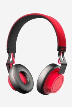 Jabra Move Bluetooth Headphone with Microphone (Red)