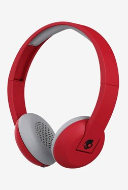 Skullcandy Uproar S5URHW-462 Bluetooth Headphone (Red Black)