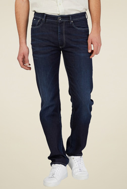 Gas Navy Regular Fit Jeans MEMPHIS