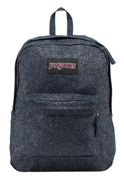 JanSport Super Fx Sparkle Twill Navy Sparkle Twill Backpack