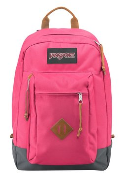 JanSport Reilly Lipstick Kiss Pink Unisex Laptop Backpack