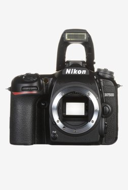 Nikon D7500 DSLR Camera (Body Only) Black