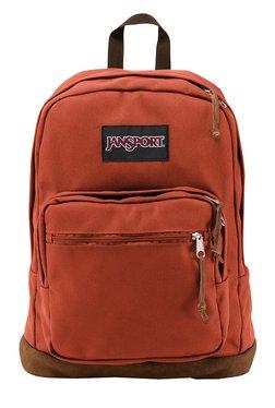 JanSport Right Pack Burnt Henna Unisex Laptop Backpack