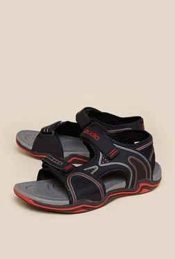 Zudio Black Arch Sandals
