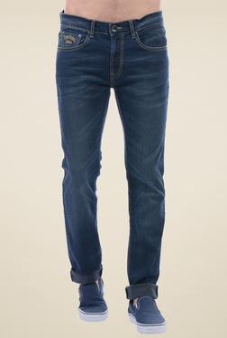 Pepe Jeans Dark Blue Slim Fit Lightly Washed Jeans