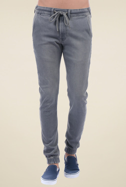 Pepe Jeans Grey Slim Fit Jogger Jeans