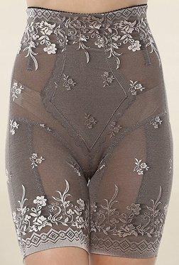 PrettySecrets Grey Lace Thigh Shaper - Mp000000001792406