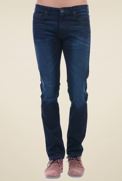 Pepe Jeans Indigo Lightly Washed Mid Rise Jeans