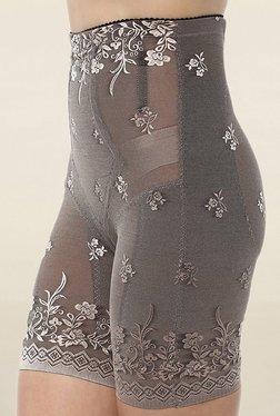 PrettySecrets Grey Lace Thigh Shaper