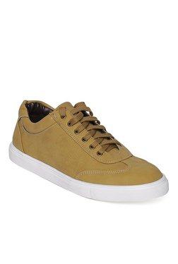 Bruno Manetti Tan & White Sneakers