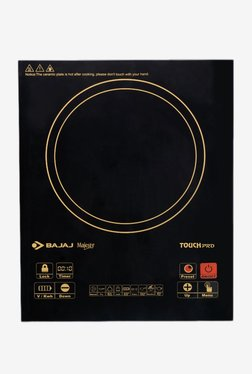 Bajaj Majesty Touch Pro 2000 W Induction Cooktop (Black)