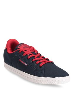 Reebok On Court IV Navy & Red Sneakers