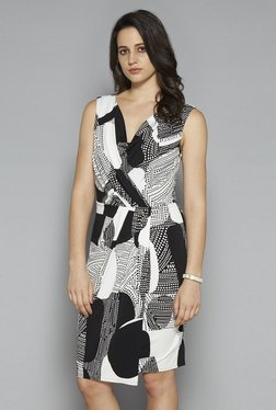 Wardrobe By Westside Black Zenith Dress