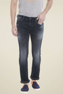Killer Navy Lightly Washed Skinny Fit Jeans