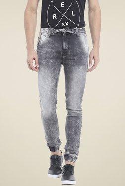 Killer Dark Grey Low Rise Jogger Jeans