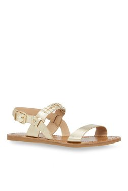 76ef9e14180 Call It Spring Drell Golden Back Strap Sandals