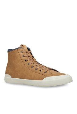750f2bb9020 Call It Spring Virco Dark Beige Ankle High Sneakers
