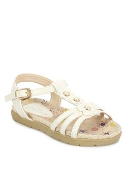 My Lil' Berry White T-Strap Sandals - Mp000000001807467