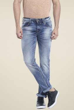 Killer Blue Lightly Washed Skinny Fit Jeans