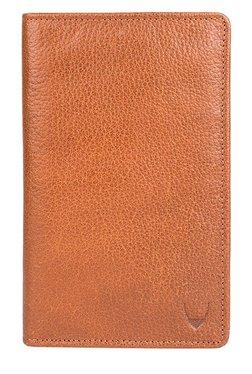 Hidesign 251 031F Tan RFID Leather Passport Wallet