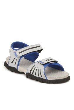 Fila Eros Light Grey & Blue Floater Sandals