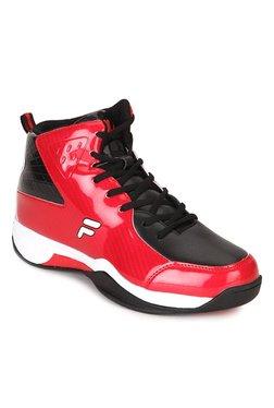 Fila Ball Hand Red & Black Basketball Shoes