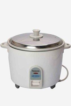Panasonic SR WA 10 1L Electric Rice Cooker (White)
