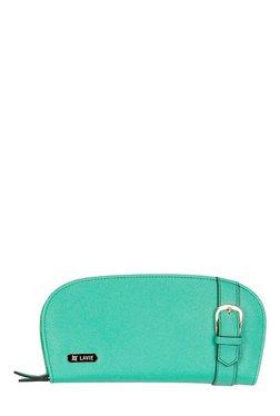 Lavie Linen Aqua Belted Wallet