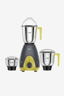 Havells Sprint 600 600W 3 Jar Mixer Grinder Grey & Green