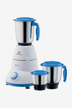 Bajaj Bravo Dlx 500 Watts 3 Jar Mixer Grinder (Blue)
