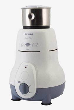 Philips HL1643/04 600 Watt 3 Jar Mixer Grinder (White)