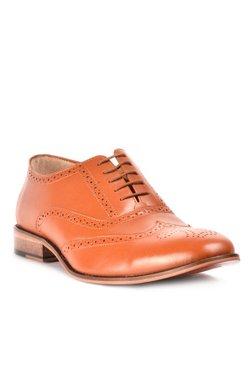 Steve Madden Steve Tan Brogue Shoes