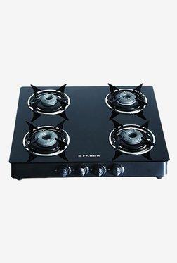 Faber Super 4BB 4 Burner Cooktop (Black)
